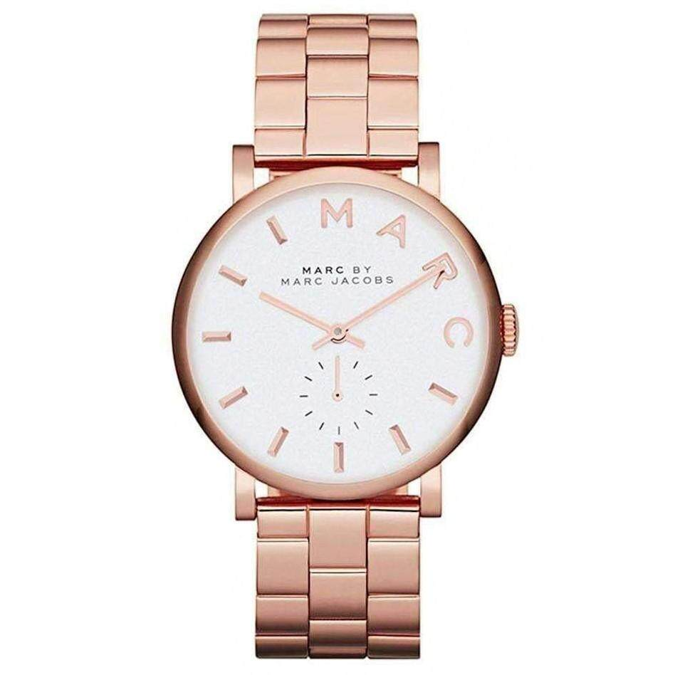 919bb69c0b59b Marc by Marc Jacobs MBM3244 Silver Dial Rose Gold-tone Ladies - Brand name  watches