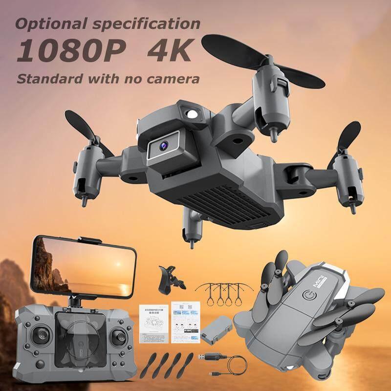 Mini Drone HD Có Thể Gập Lại Wifi FPV RC Máy Bay Trực Thăng Máy Bay Điều Khiển Từ Xa FPV WiFi Camera Kép Có Thể Gập Lại Bay Không Người Lái Máy Bay Không Người Lái Độ Nét Cao 4K