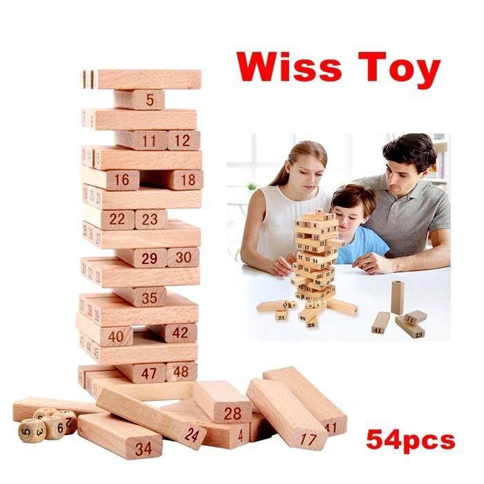Wiss Toy Wooden Toys - Permainan Blok Kayu Kanak - Kanak By Damias Resources (m) Sdn Bhd.