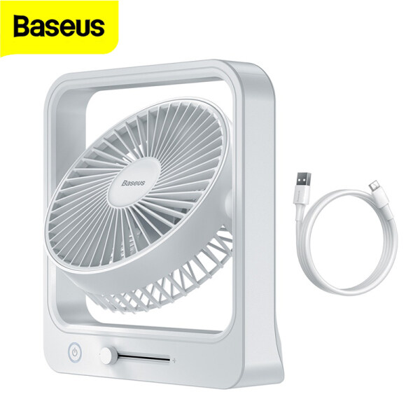 Baseus Cube Shaking Fan EU 5400mAh Portable for Wireless Use Quite and Powerful for Home Dormitory