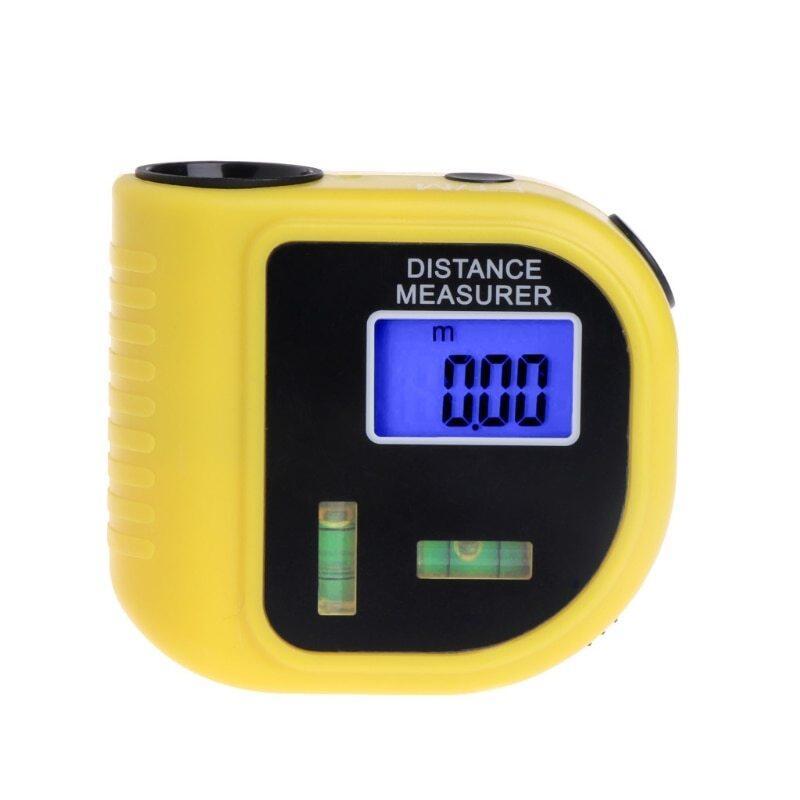 OOTDTY CP-3010 18M Siêu Âm Mini Dây Kỹ Thuật Số Biện Pháp Lấy Nét Quan Trắc Bằng Laser Đồng Hồ Đo Khoảng Cách & Con Trỏ La-ze Rangefinder Cấp Công Cụ
