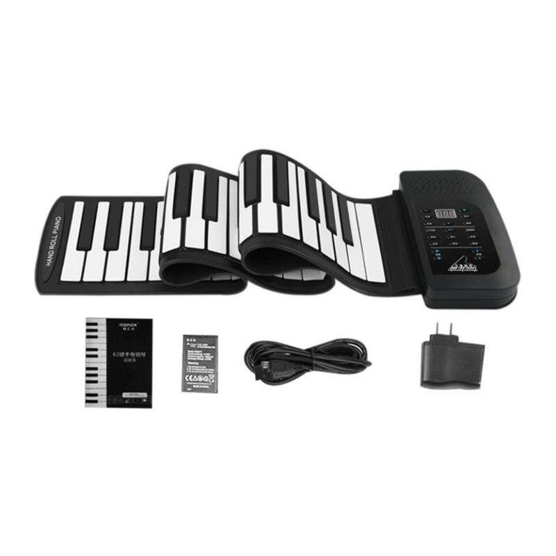 OH 61 Key Roll Up Piano Electronic Training Tool Professional Musical Instrument Malaysia