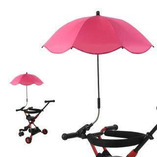 Xe đẩy em bé Buggy Umbrella Sun Sun parasol 360 độ điều chỉnh cho ngoài trời thumbnail