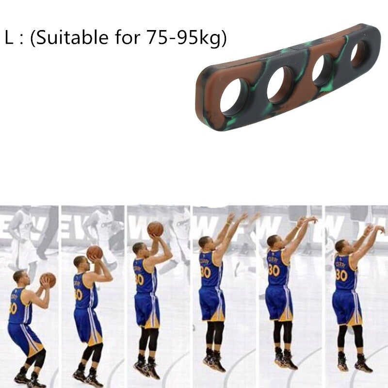 PLsport Camouflage Basket Ball Shooting Hand Posture Correction Silicone High Quality M(Suitable For 55-70kg)/L(Suitable For 75-95kg) Giá Rẻ Nhất Thị Trường