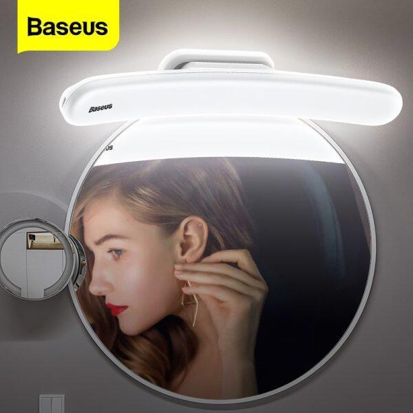 Baseus LED Mirror Light Có thể điều chỉnh Gương trang điểm Đèn USB Có thể sạc lại Đèn tường cho phòng tắm Phòng ngủ Bàn trang điểm