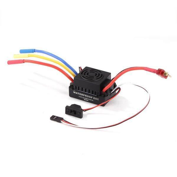 60A Waterproof Brushless Motor Brushless Speed Controller Sensorless ESC