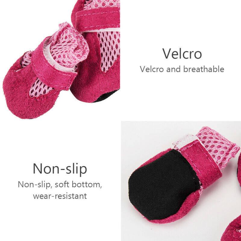 Phụ kiện booties giày không thấm nước chống trượt unisex Pet Dog bảo vệ mưa khởi động vớ ấm chân bảo vệ con chó vớ