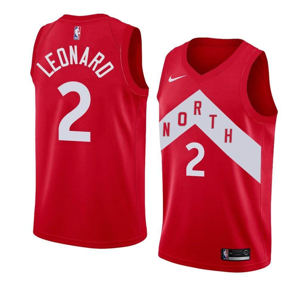 Voucher tại Lazada cho NBA Cho Nam Và Nữ Đồng Phục Bóng Rổ Tất Cả Các-Sao Toronto Raptors Đội Không Có. 2 Jerseys Leonard Thể Thao Cho Học Sinh Áo Bóng Rổ (Thưởng Phiên Bản Màu Đỏ)