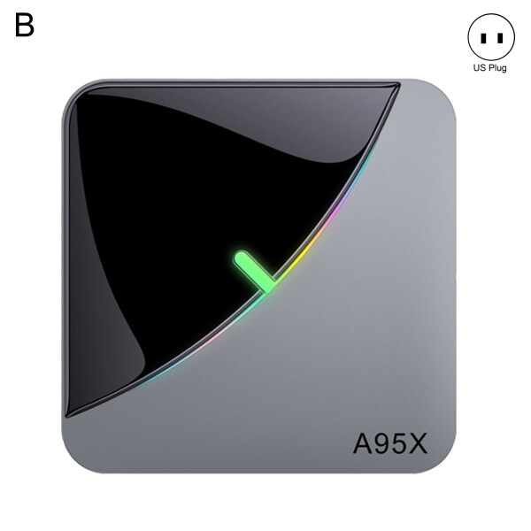 YA® A95X F3 AIR S905X3 Dual WiFi Media Player Smart TV Set Top Box for Android 9.0