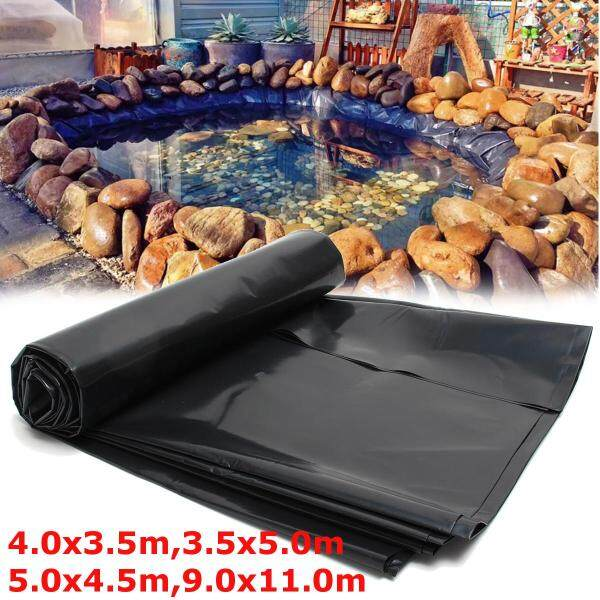 4 Sizes Durable Fish Pond Liners Reinforced HDPE Membrane Garden Pools Landscaping - 4*3.5m