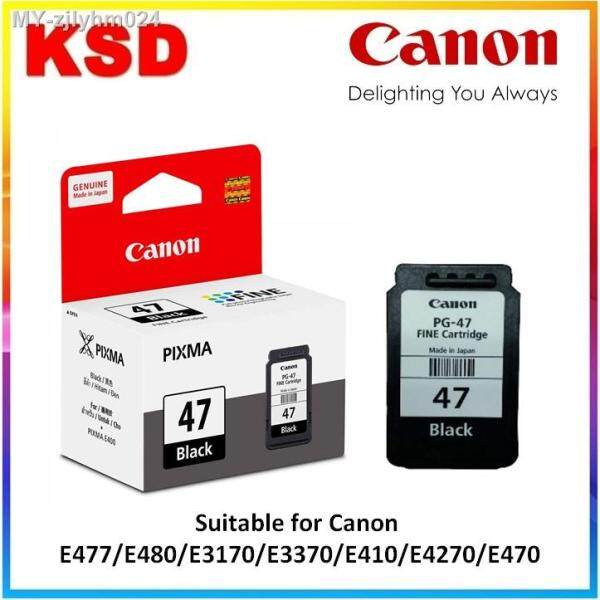 Canon PG-47 Black-CL-57-CL-57s Color Ink Cartridge pg47 cl57 cl57s Malaysia