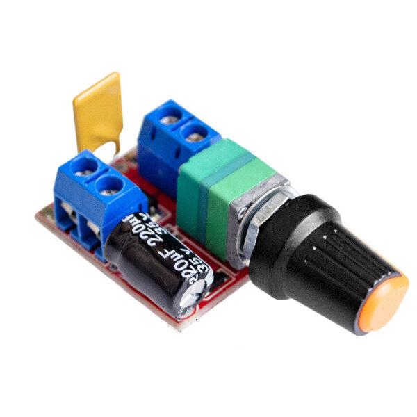 Bảng giá Bộ Điều Khiển Tốc Độ Động Cơ Mini 5A PWM Max 90W DC Công Tắc Điều Khiển Tốc Độ 3V-35V Đèn LED Mờ