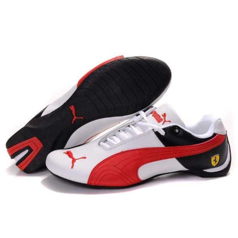 code promo 95f80 0b96a PUMA FUTURE CAT LEATHER SF Series Ferrari Sneakers
