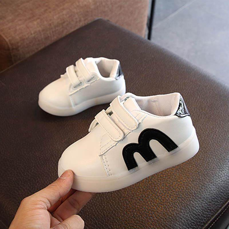 Latest Collection Of 2019 Spring And Summer New Recreational Sports Shoes For Children Boys And Girls Leisure Small White Shoes Board Shoes Baby Shoe Girls