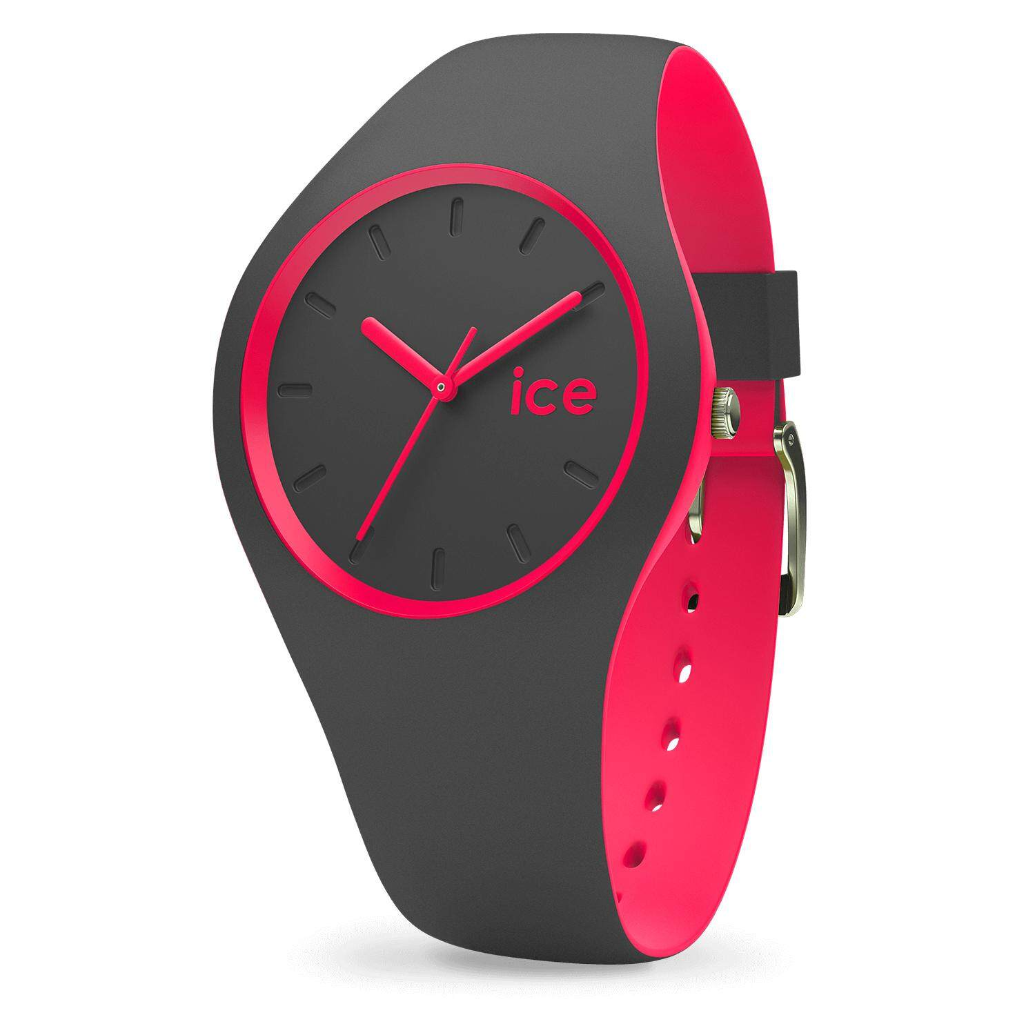 Ice-Watch ICE duo - Anthracite Pink (Medium) Malaysia