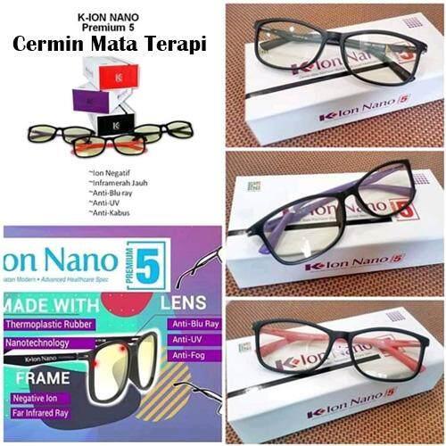 Eye Therapy Glasses (Cermin Mata Terapi) - Black Colour