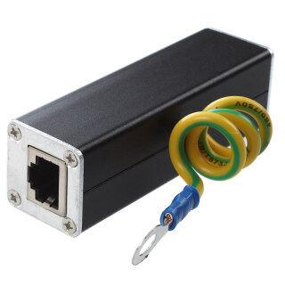 RJ45 Plug Ethernet Network Surge Protector Thunder Arrester 100MHz thumbnail