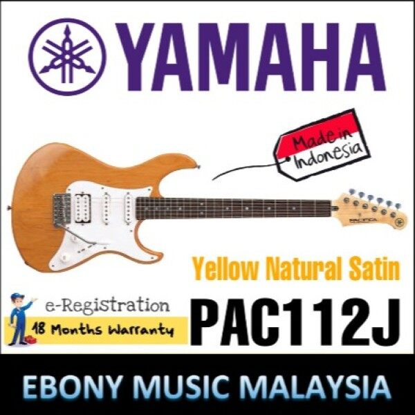 Outstanding Beginner Electric from Yamaha The Yamaha PAC112J Pacifica electric guitar is a great beginner instrument for Malaysia