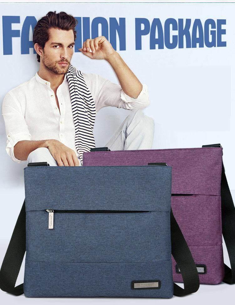 Unique2017 Mens Simple Lightweight Oxford Cloth Messenger Bag Retro Handbag Business Tote Bags Large Capacity Casual Shoulder Bag Business Briefcase
