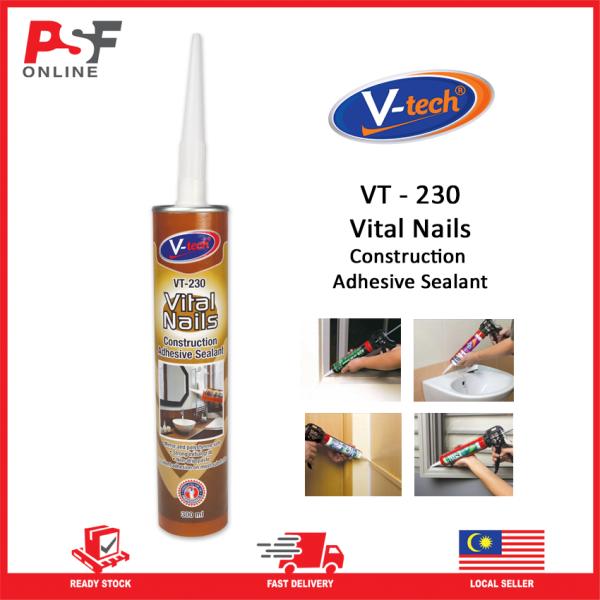 FloorPlus Accessories Vital Nails Construction Adhesive Sealant - VT230 | Strong & High Performance sealant