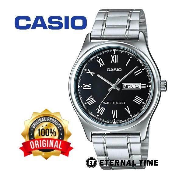 (2 YEARS WARRANTY) CASIO ORIGINAL MTP-V006D-1B ANALOG-MENS WATCH (MTP-V006D) WATCH FOR MAN / JAM TANGAN LELAKI / MAN WATCH / WATCH FOR MEN / CASIO WATCH FOR MEN / CASIO WATCH Malaysia