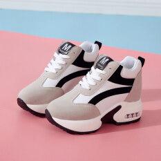 Giày thể thao cho nữ, đế cao, dày 8cm, phong cách Hàn Quốc thường ngày – INTL
