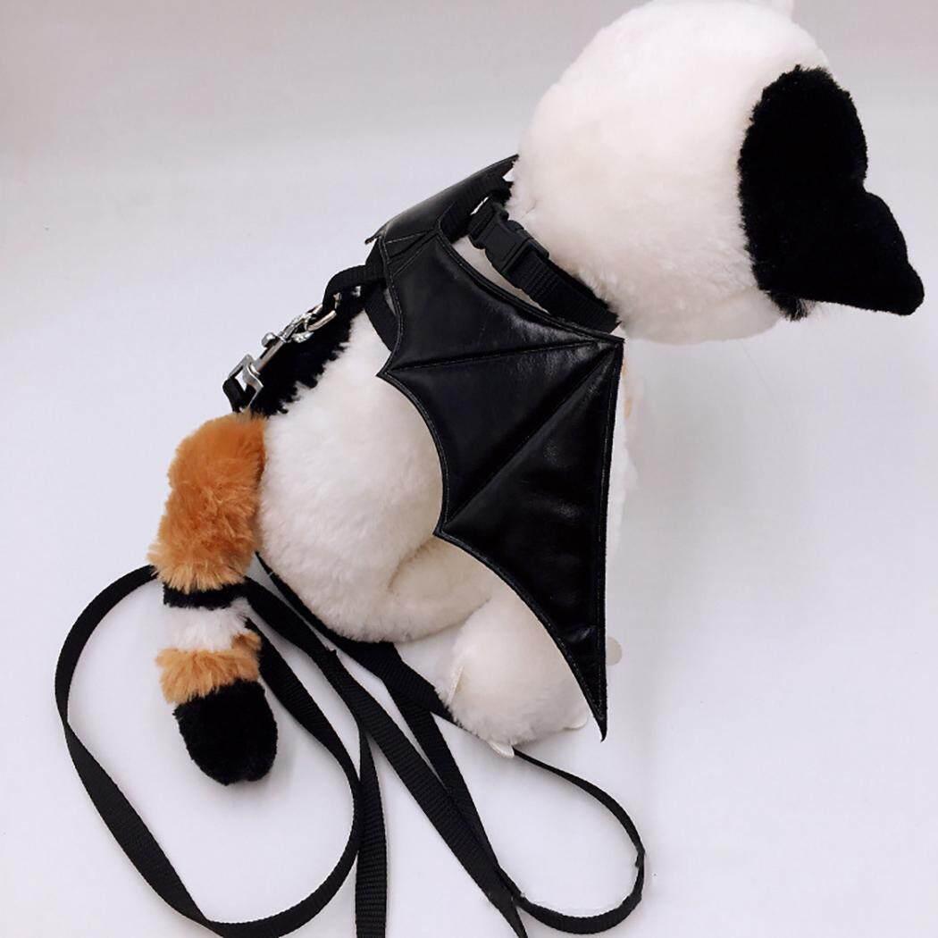 Thú Cưng Dây Xích Dây Bộ Bát Thiết Kế Hình Thú Đáng Yêu Cánh Mèo Dây Bộ cho Halloween, Loại 45 Cánh Lớn - 5