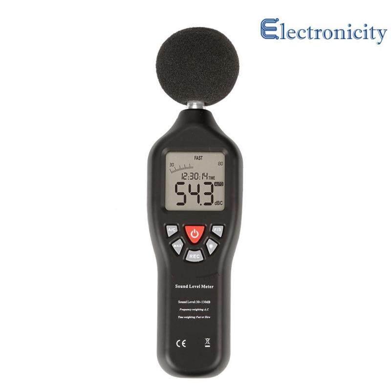 30-130dB Mini Sound Level Meters Decibel Meter Logger Noise Audio Detector