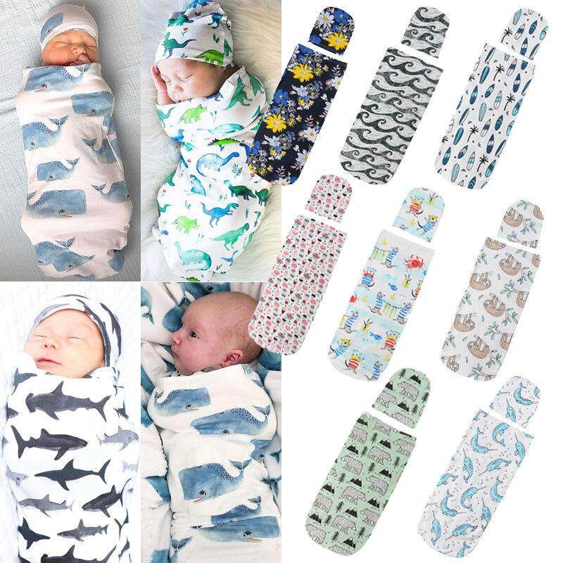 100% Muslin Cotton Newborn Infant Swaddle Baby Soft Blanket Wrap Towel Set By Lg566.