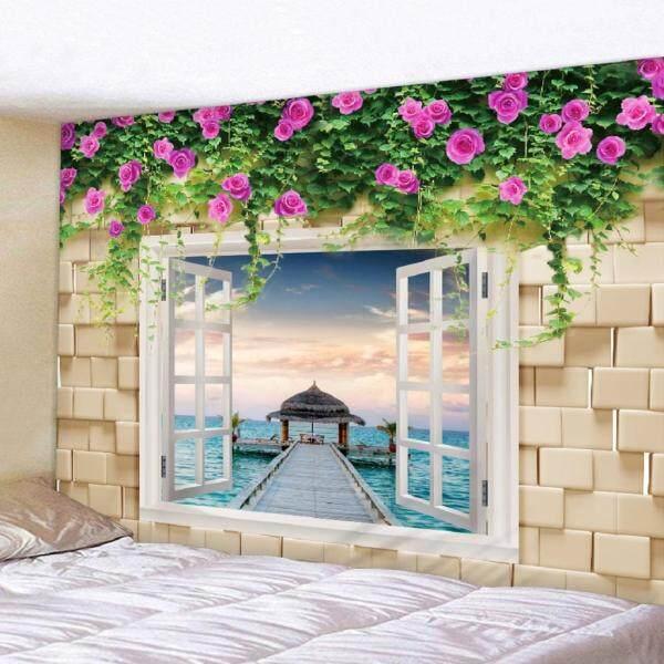 BolehDeals Natural Scenery Printed 3D Wall Hanging Tapestry Bedroom Living Room Hotel Wall Decorations