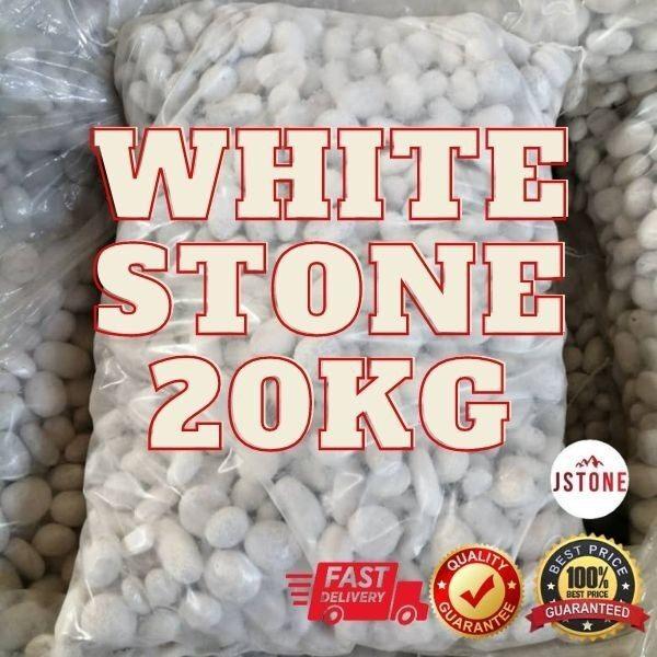 20KG Batu Putih Hiasan / White Stone