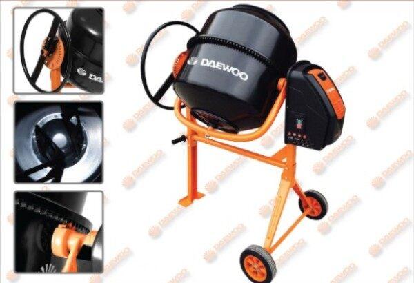 DAEWOO DACM140H Electric Concrete Mixer 140litre