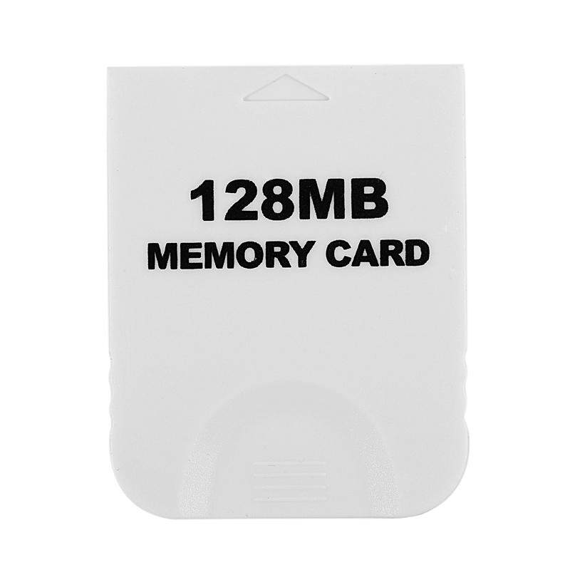128MB Memory Card for Nintendo Wii Gamecube GC Game White