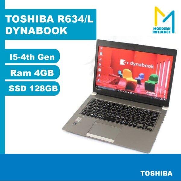TOSHIBA R634/L DYNABOOK I5-4TH GEN RAM 4GB, SSD 128GB Malaysia
