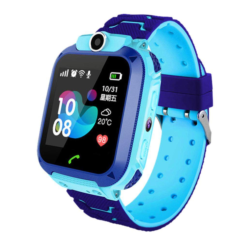 Yongzhiliu Q12B Childrens Smart Watch Android Insert Card 2G Waterproof Remote Positioning GPS Locator Camera Call Anti-lost Smart Wristband for Kids Malaysia
