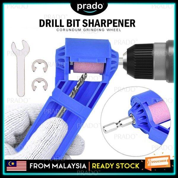 PRADO Malaysia Portable Drill Bit Sharpener Corundum Grinding Wheel for Grinder Polishing Kit Pengasah Mata Drill Bit