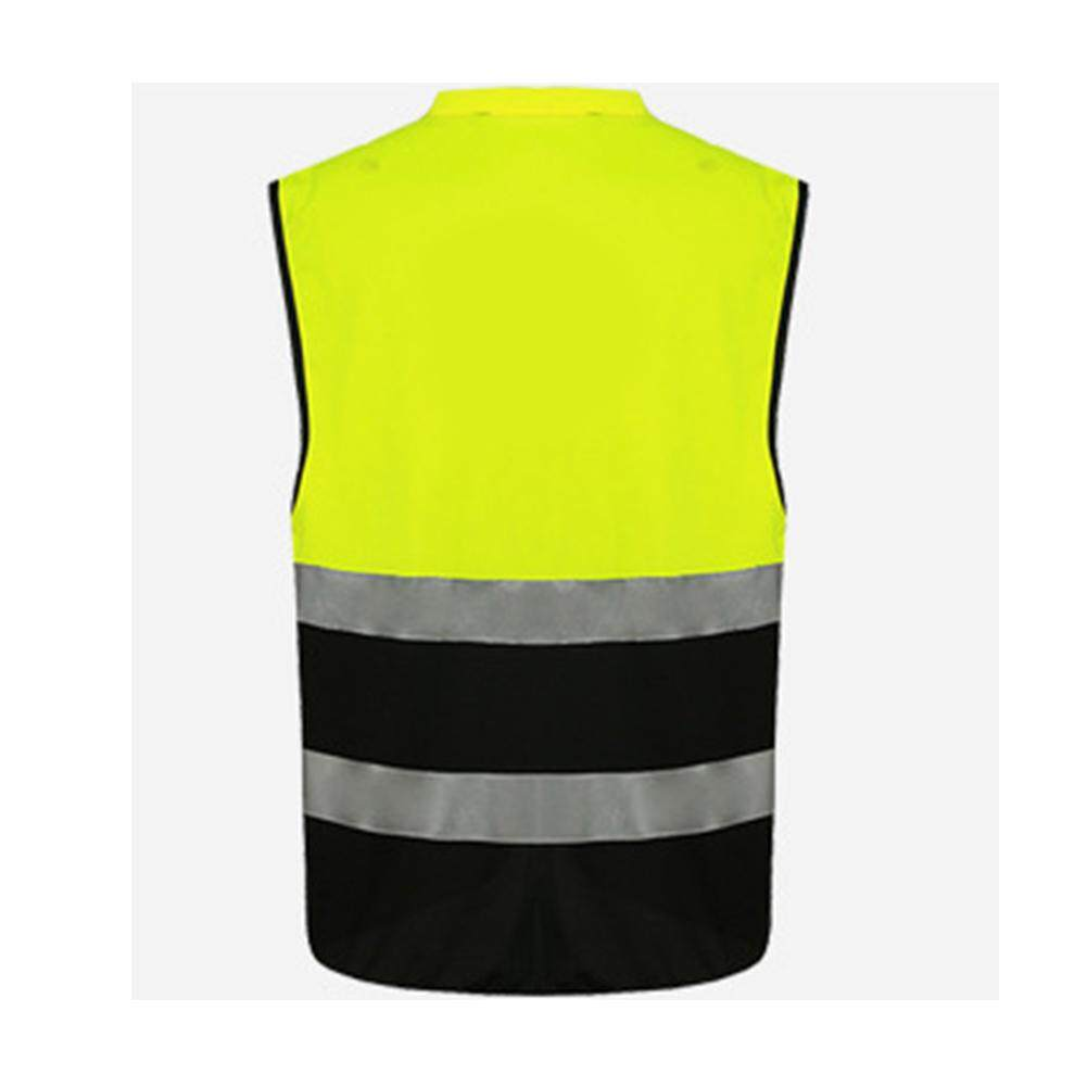 Safety Security Visibility Reflective Vest Construction Traffic Cycling Wear By Blueskytoy158.