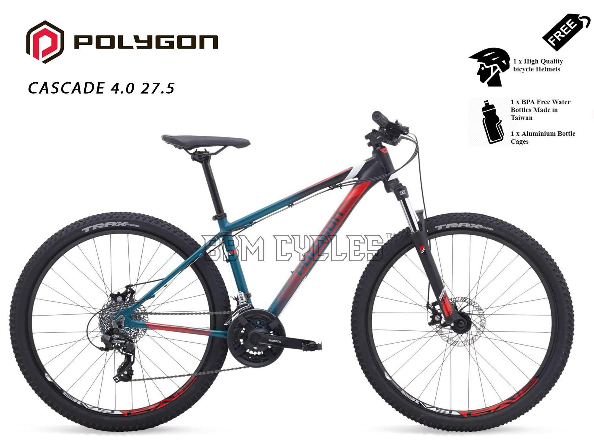 Polygon Cascade 4.0 - 27.5 inch Mountain Bike MODEL 2019 Bio Fit Geometry