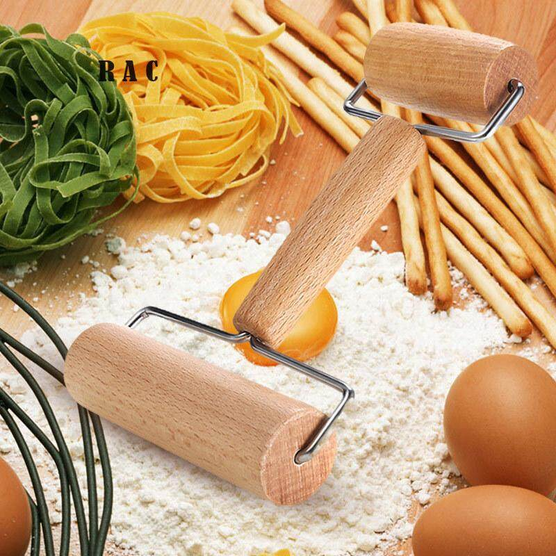 Pastry Rolling Pin Pizza Dough Roller Home Kitchen Pie Bread Baking Wooden Tool