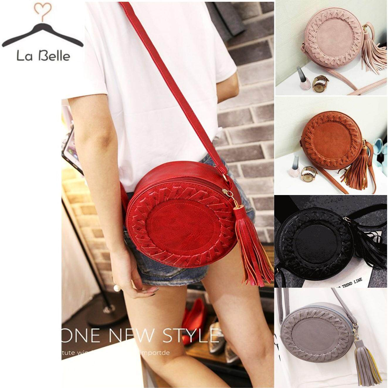 316f9b79c291 LABELLE - Round Sunny Sling Shoulder Bags Tangan Handbag Beg Tangan Bag  Women Ladies Girls Women