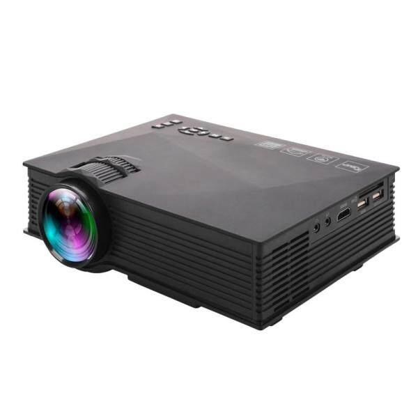 LEDMOMO UC46 Pro Mini Portable LCD LED Home Theater Cinema Game Projector with US Plug