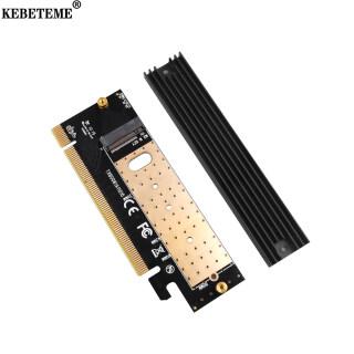 KEBETEME Thêm Vào Thẻ M.2 NVMe SSD NGFF Sang PCIE 3.0 X16 X4 Bộ Chuyển Đổi Thẻ Mở Rộng Giao Diện Phím M Hỗ Trợ SSD 2230 Sang 2280 thumbnail