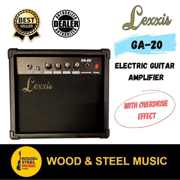 Lexxis GA-20 Electric Guitar Amp / Beginner amp/ cheap amp /Pemula amp /basic amp Malaysia