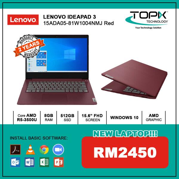 LENOVO IDEAPAD 3 15ADA05-81W1004NMJ RED Malaysia