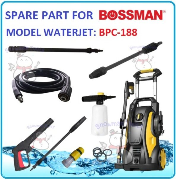 REPLACEMENT SPARE PART FOR BOSSMAN BPC188 WATERJET HIGH PRESSURE WASHER SOAP BOTTLE GUN NOZZLE HOSE BPC-188 HOS PAIP ACCESSORY ACCESSORIES BPC 188 BOSS MAN CLEANER