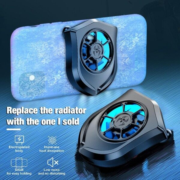P11 Cooling Pad Mobile Phone USB Cooler Cooling Fan Game Pad Holder Bracket Fan Radiator Malaysia