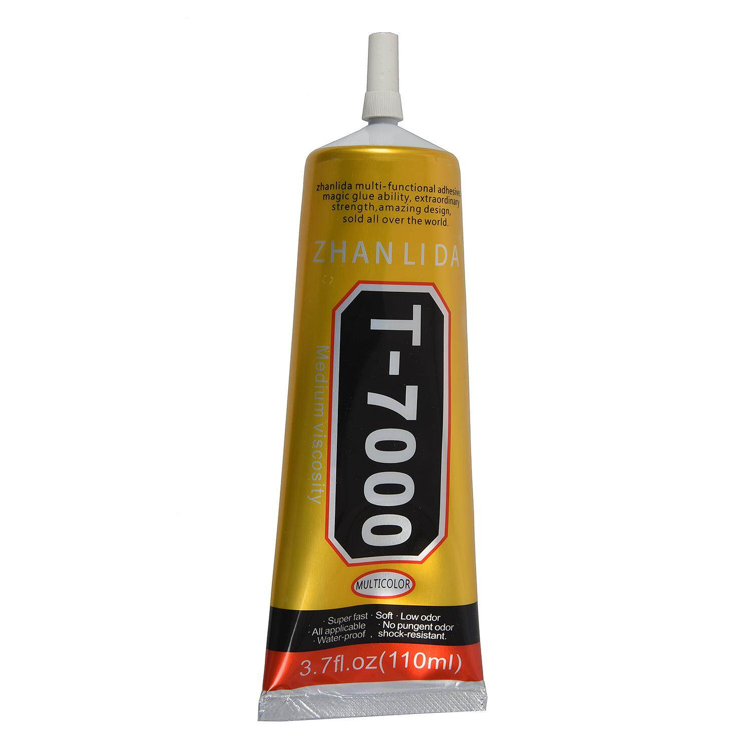 ZHANLIDA T7000 plastic plastic phone screen glue Alice screen color: black 110ml