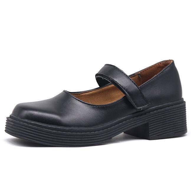 Hepburn Giày Mary Jane Giày Nhật Bản Jk Giày Giày Da Nhỏ 2020 Đầu Vuông Cổ Điển Giày Nữ Đế Mỏng Xia Hundred giá rẻ