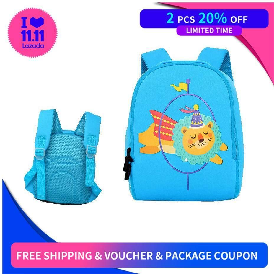 New Shoulder Bag For Boys And Girls Nursery School Backpack Lovely Waterproof Cartoon Bag Sense Of Design