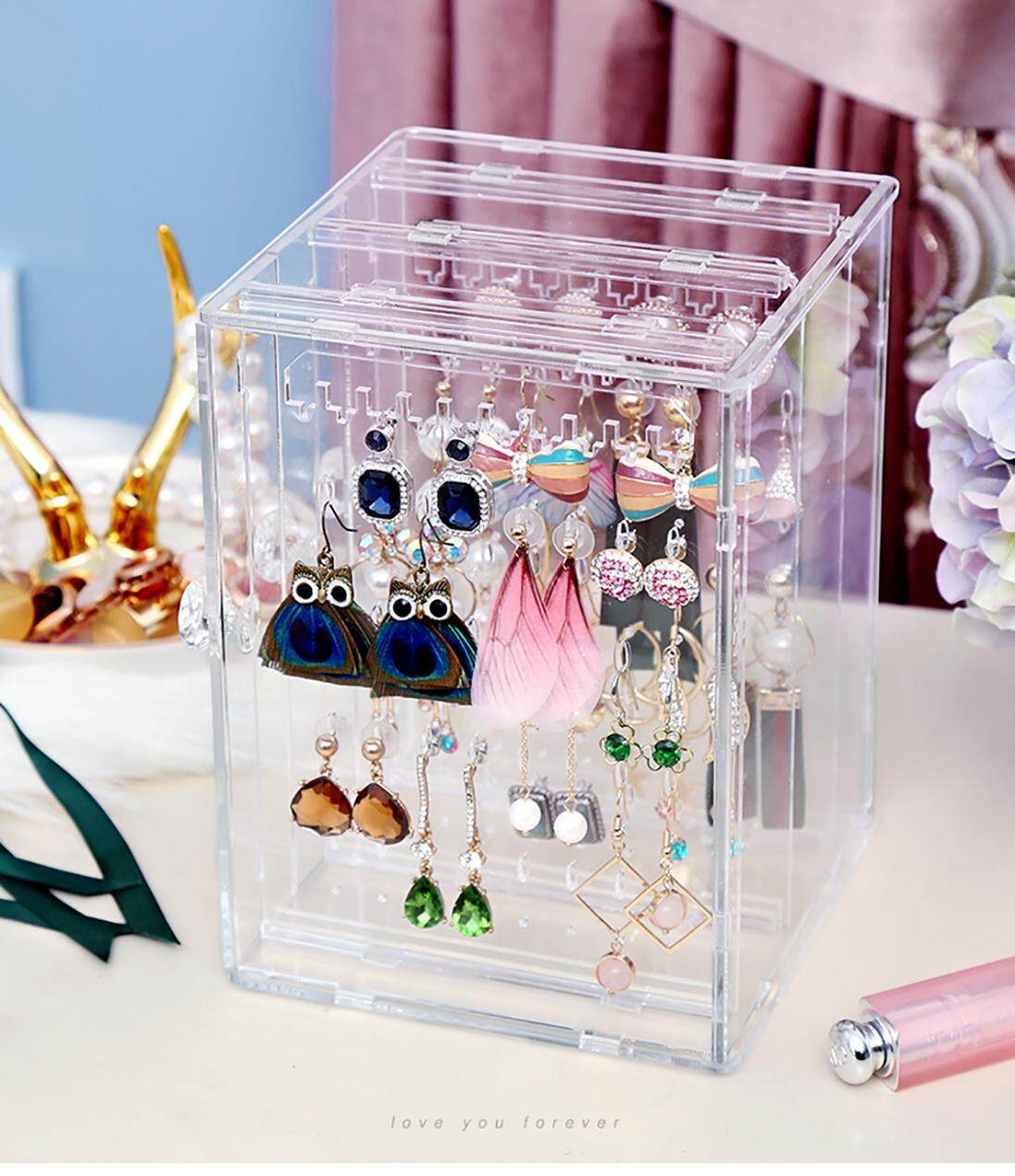 High Quality Premium Acrylic Earring Storage Organizer Rack By Dat Store.
